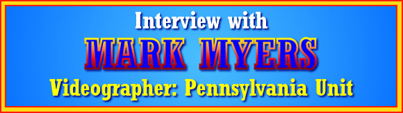 Interview with Mark Myers - Videographer