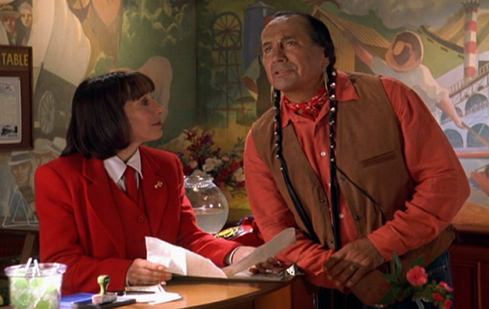 Russell Means and Didi Conn