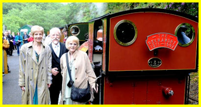 Awdry Family with Sir Handel