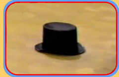 A top hat scuttles along the station floor!!!