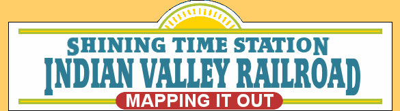 Mapping out the Indian Valley Railroad