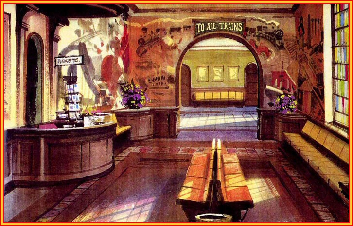 Oleg's  concept art for Shining Time Station (int)