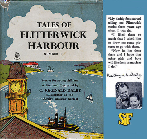 Dustjacket cover of Tales of Flitterwick Harbour