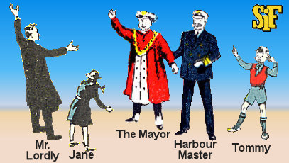 Human Characters from Flitterwick Harbour